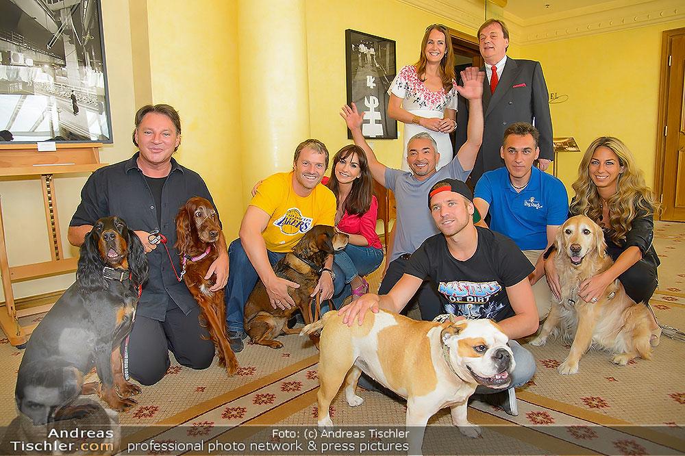 Hundflüsterer Cesar Milan Pressetermin